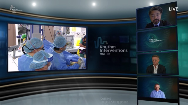 Live Case & Discussion – Convergent ablation procedure