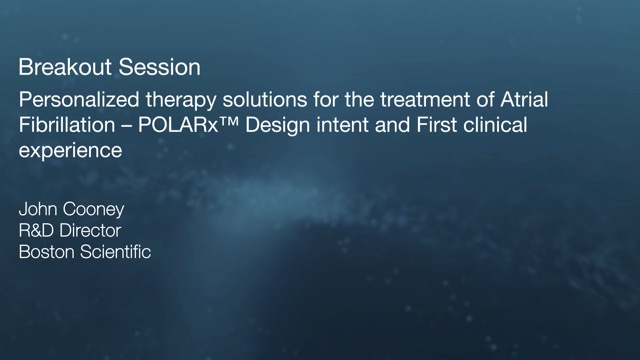 POLARxTM Design intent and first clinical experience